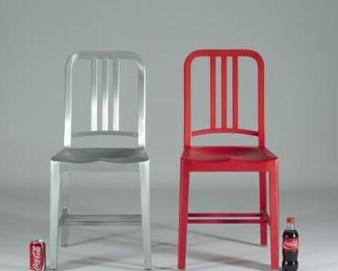 Coca Cola Stuhl aus 111 Plastikflaschen