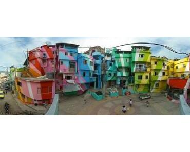 Favela Painting – Rio´s Slums mit neuem Anstrich