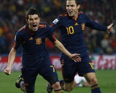Torjubel führt Fußballmannschaften zum Sieg