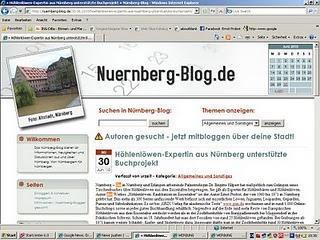 Blog berichtet über Nürnberg