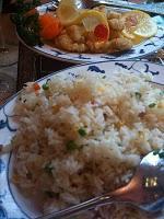Chinesisches Essen und Spaziergang am See