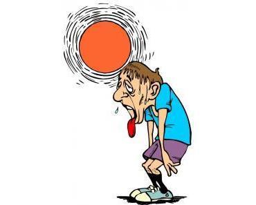 Aktuell: Sonnenstich und Hitzschlag