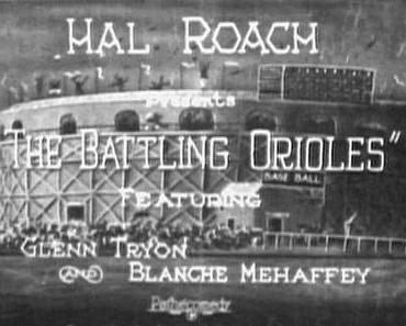 THE BATTLING  ORIOLES (1925)