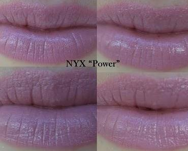 "NYX Round Lipstick ""Power"""