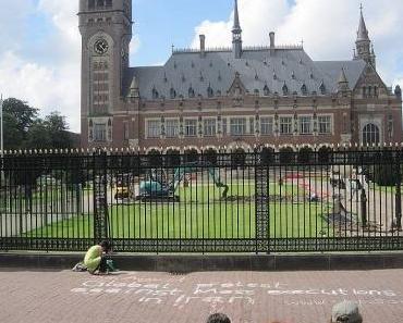 Protest – Internationaler Gerichtshof Den Haag – Wo, wenn nicht hier?