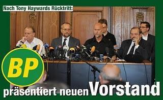BP präsentiert neuen Vorstand