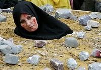 Protestaktion: Stimmen für Sakineh Aschtiani; Frankfurter Rundschau