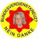 Zum Bundesverdienstkreuz an Edith Schwab