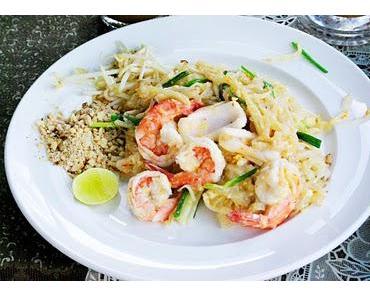 Thai Cooking  -  part I     Pad Thai mit Seafood
