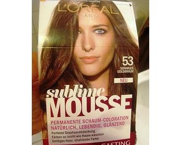 Kurzreview L'oréal Sublime Mousse Coloration