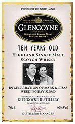 Glengoyne offeriert individuelle Labels für 10 und 17jährige Abfüllung