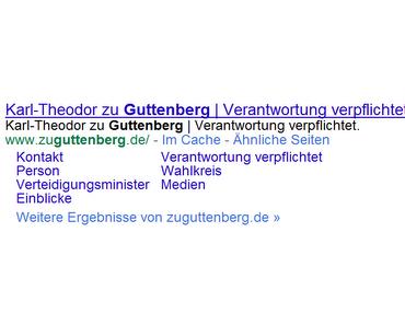Guttenberg: Geblieben, um zu gehen