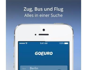 GoEuro App: Die perfekte Reiseroute finden (App-Review)