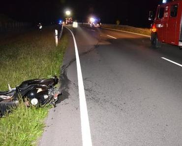 Tödlicher Motorradunfall Elsdorf auf der L131