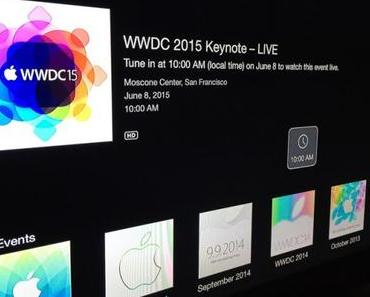 Livestream für Apple WWDC Keynote am 8. Juni