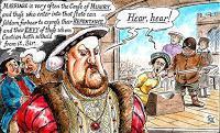 Zwei wertlose Ehen oder Anne Boleyn führte eine gute Ehe