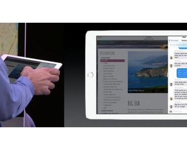 iOS 9: Split-Screen Multitasking für iPad kommt