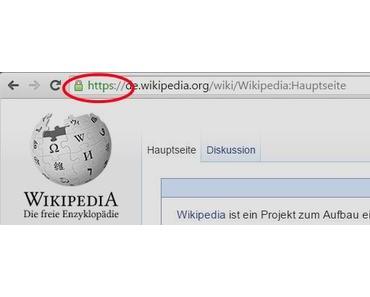 Die Wikipedia ist jetzt standardmäßig verschlüsselt