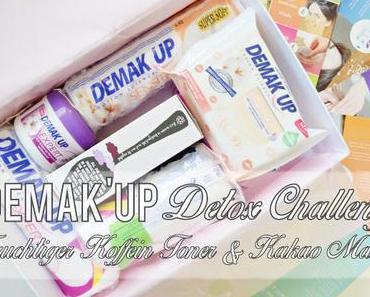 Demak'Up Detox Challenge - Fruchtiger Toner & Kakao Maske