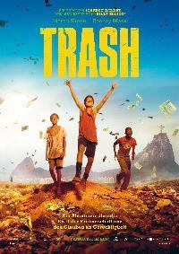 Poster & Roman zu TRASH von Stephen Daldry & Christian Duurvoort