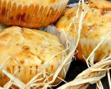 Herzhafte Käse-Schinken Muffins