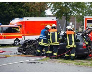 Autounfall Ehingen – Frontalkollision fordert zwei Verletzte