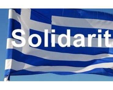 Solidarität mit Griechenland !