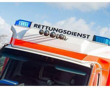 Schwerer Motorradunfall Gernsbach