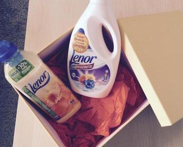 Ihr findet mich im Waschkeller mit Lenor!