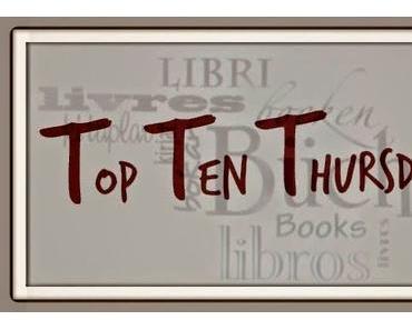 Top Ten Thursday # 215 | 10 Bücher, die im Sommer gelesen werden