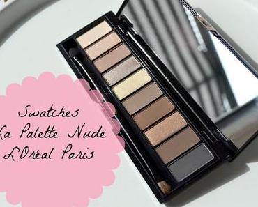 {Review / Swatches} - L'Oréal Paris Color Riche La Palette Nude - Beige