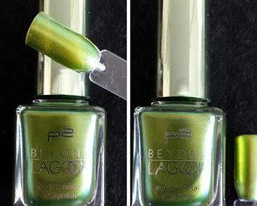 p2 Beyond Lagoon 030 SEAWEED GREEN Nagellack
