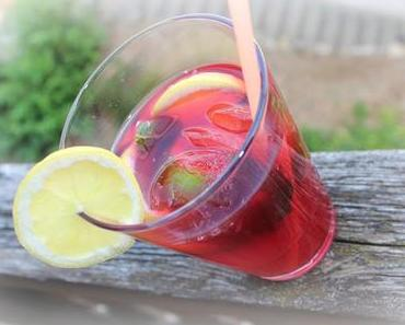 Früchte Eistee selbstgemacht