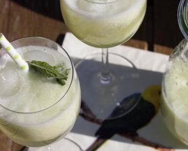 Melonen-Prosecco-Cocktail für heiße Tage oder Abseits des Mainstreams
