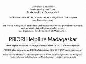 Madagaskar: Streik der Air Madagascar dauert an