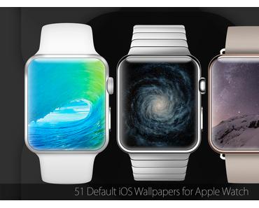 Download: 51 iOS Wallpaper für die Apple Watch optimiert