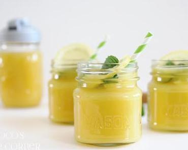 Grüntee-Mango Eistee - plus ein kleines Geschenk