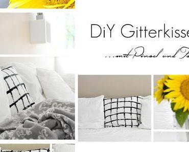 DiY Grid Print Polster