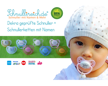 Schadstoffe in Kinderspielzeug + Babyartikeln? Keine PAK / Weichmacher bei Namensschnuller und Schnullerketten mit Namen von Schnullireich.de