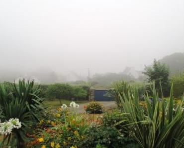 Bretagne 2015 – 2. Tag: Von Regen-Läufen, Spinnennetzen und bretonischem Senkblei