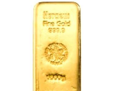 Der Goldpreis stürzte gestern ab
