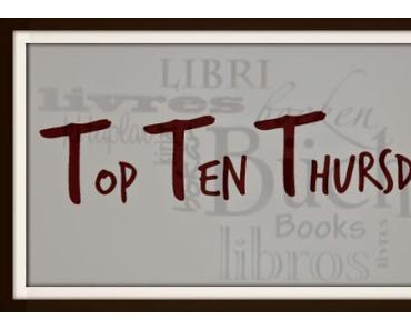*Top Ten Thursday* 10 Bücher gegen eine Leseflaute