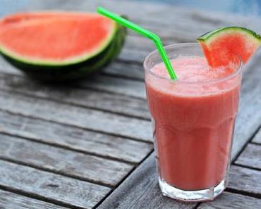Himbeer-Wassermelonen-Smoothie