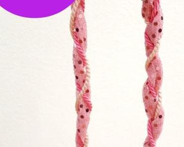 """DIY: Zwirbelkette – oder: mal eben schnell ein paar """"Reste"""" verwerten"""