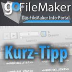 Kurz-Tipp: Startdatei für freigegebene FileMaker-Datenbank
