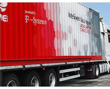 """Telekom und Huawei zeigen die """"Cloud auf Rädern"""""""