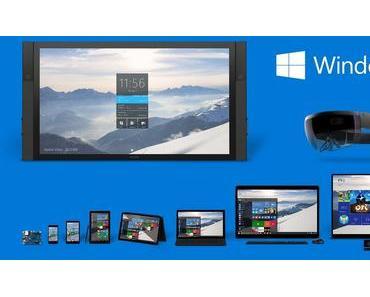 Microsoft Windows 10 ist da!
