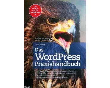 Das WordPress Handbuch in der Bücherecke