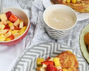 Süsses Sonntagsfrühstück! French Toast mit Obstsalat