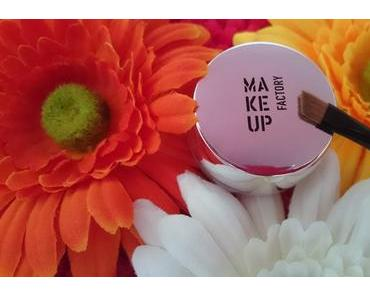 Make up Factory Ultrastay Brow Cream & Eye Contour Brush Review